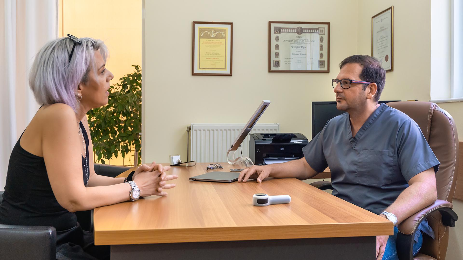 Γιώργος Τύρος - Δερματολόγος Αφροδισιολόγος - consultation