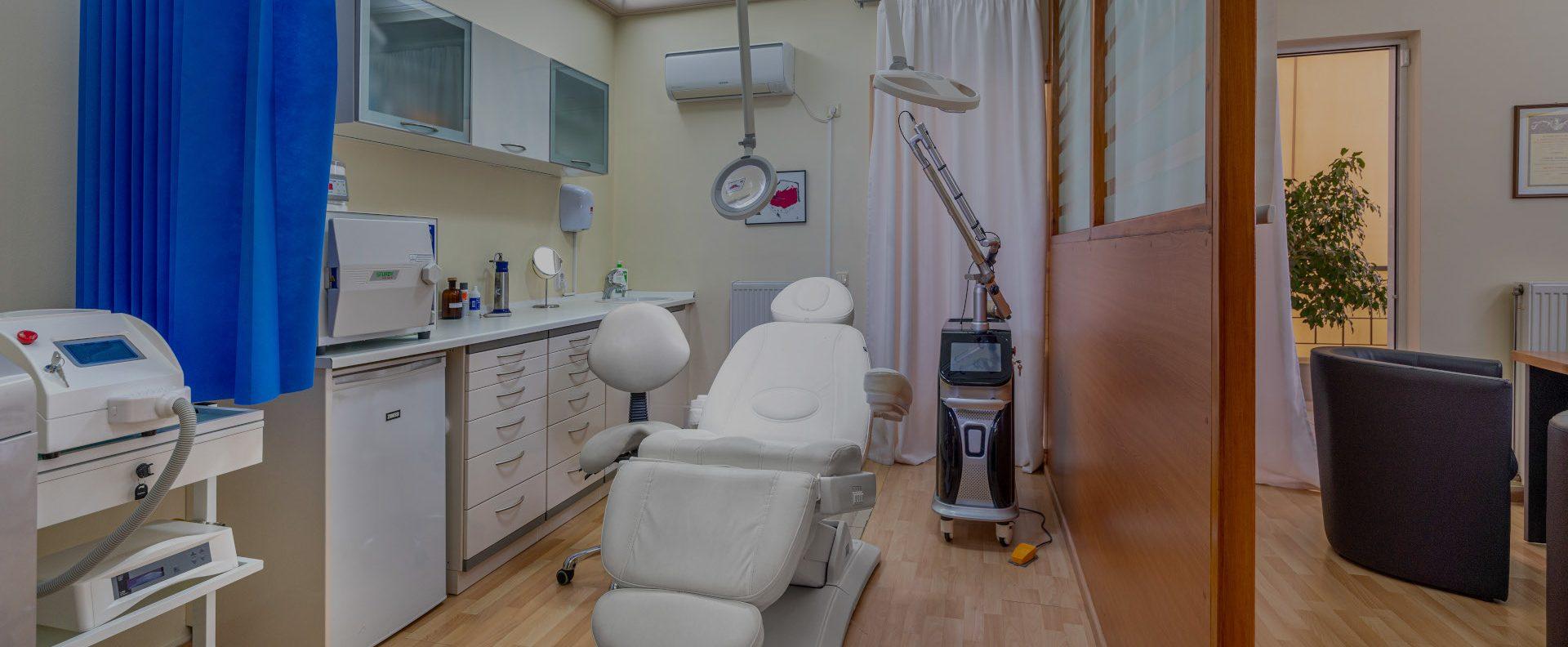 Γιώργος Τύρος - Δερματολόγος Αφροδισιολόγος - Νέα Σμύρνη - treatment room